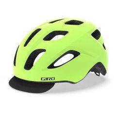 Вело шлем Giro Cormick матовый желто-черный