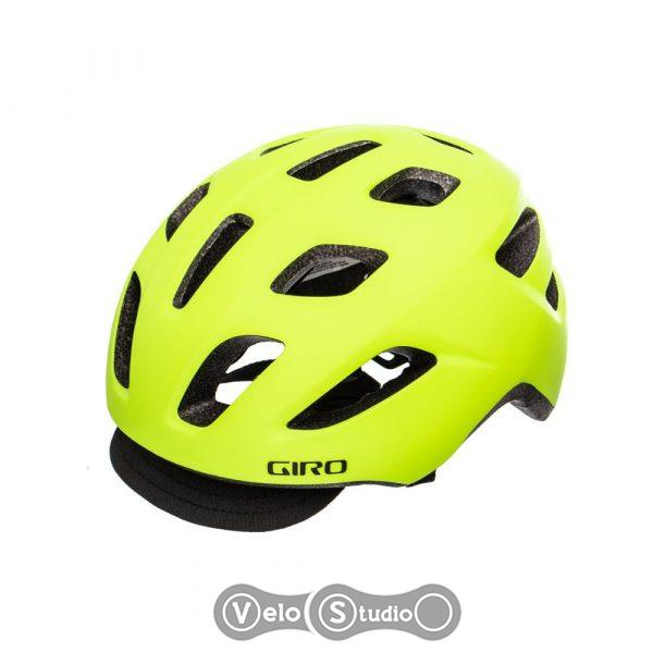 Вело шлем Giro Cormick MIPS матовый желто/черный