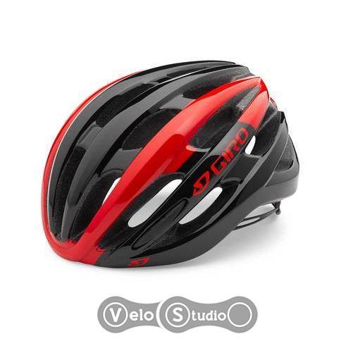 Вело шлем Giro Foray черно-красный
