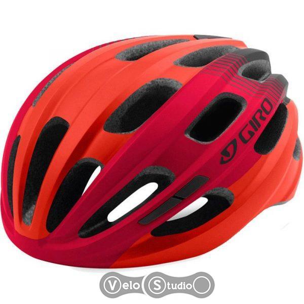 Вело шлем Giro Isode матовый красный/черный