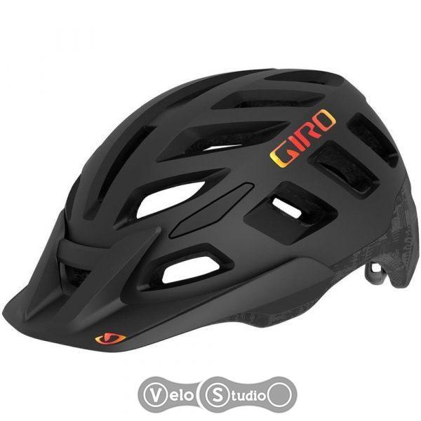 Вело шлем Giro Radix MIPS матовый черный