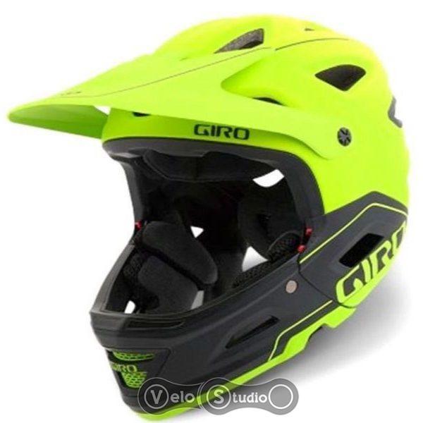 Вело шлем Giro Switchblade MIPS матовый лайм/черный