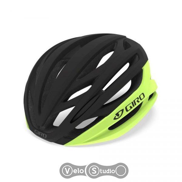 Вело шлем Giro Syntax матовый черно/желтый