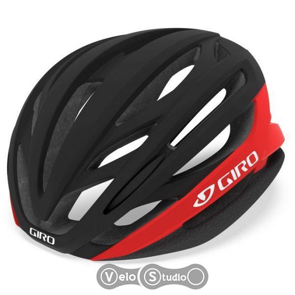 Вело шлем Giro Synthe MIPS II матовый черный/ярко-красный