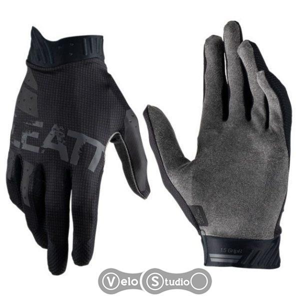 Перчатки LEATT Glove 1.5 GripR Black