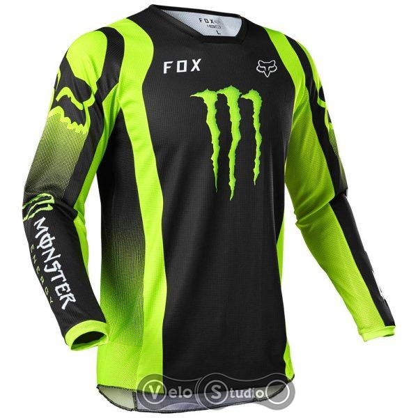 Джерси FOX 180 Monster Jersey Black
