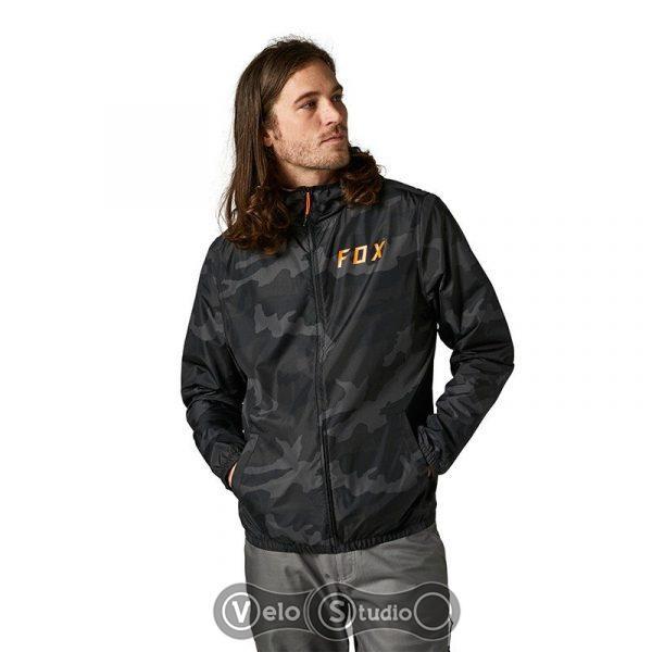 Куртка Fox Clean Up Windbreaker Black Camo