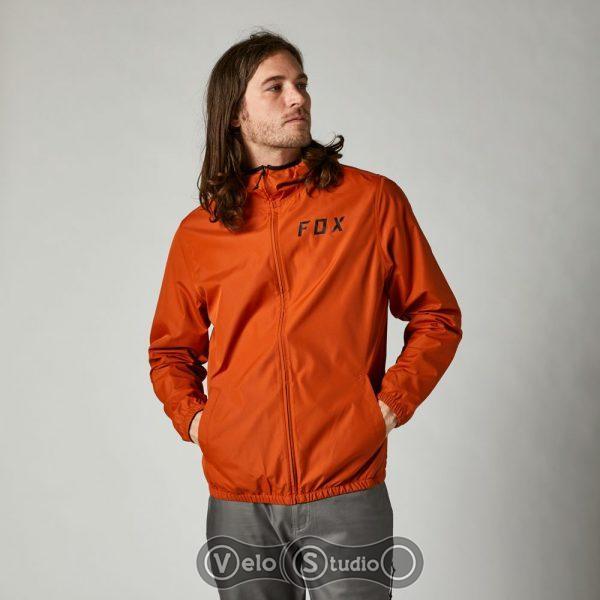 Куртка Fox Clean Up Windbreaker Burnt Orange