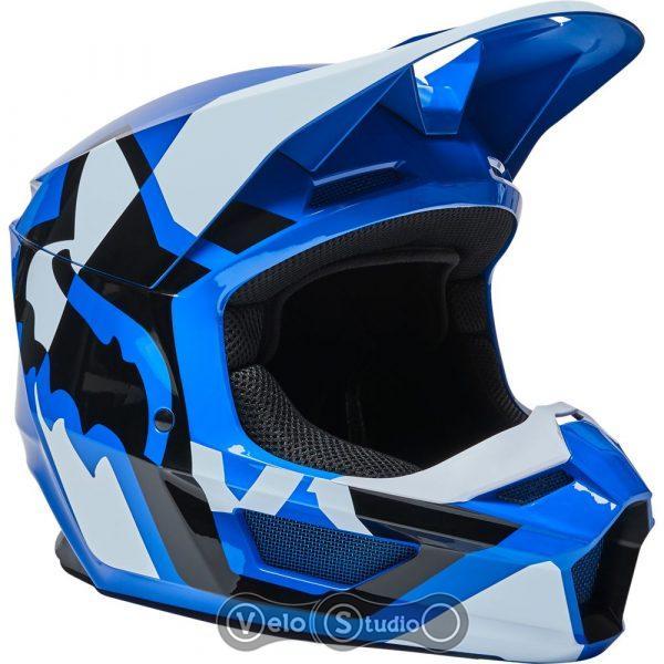 Мотошлем FOX V1 Mips Lux Blue