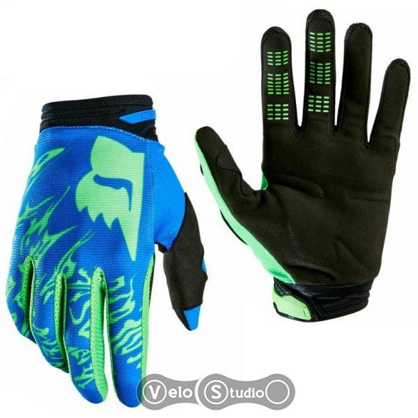 Перчатки FOX 180 Peril Gloves Flo Green