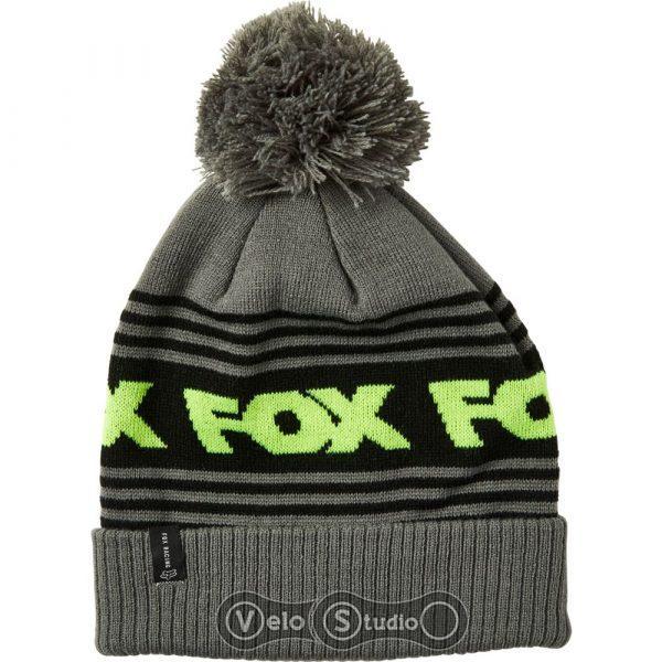Шапка зимняя FOX Frontline Beanie Pewter