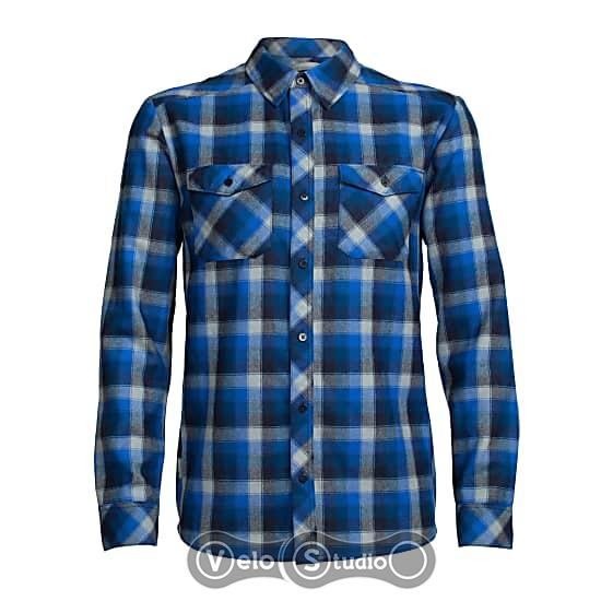 Терморубашка Icebreaker Lodge LS flannel shirt MEN largo