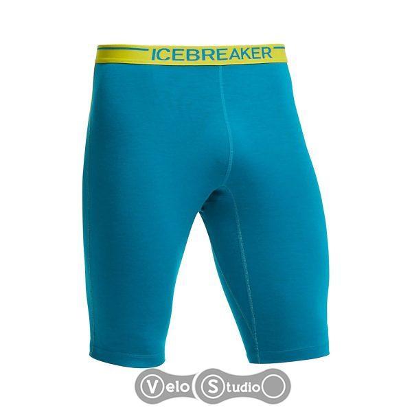 Термошорты Icebreaker Zone Shorts MEN alpine/chartreuse