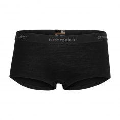 Термошорты женские Icebreaker 200 Oasis Boy shorts WMN Black