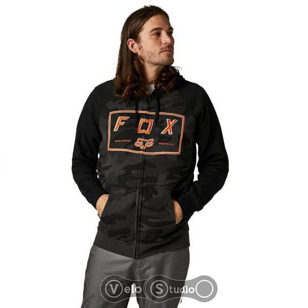 Толстовка FOX Badger Camo Zip Fleece Black Camo
