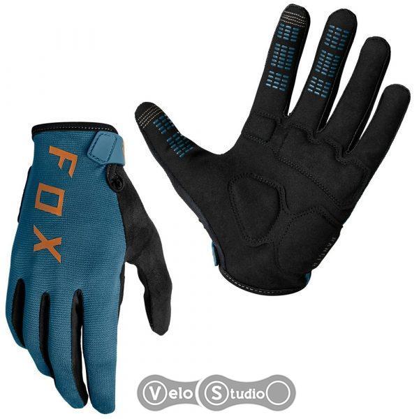 Велоперчатки FOX Ranger Gel Slate Blue