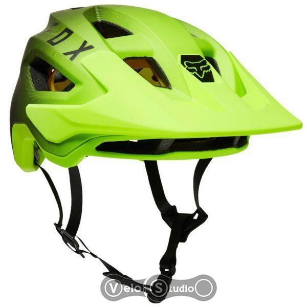 Велошлем FOX SpeedFrame Pro Mips Black Yellow