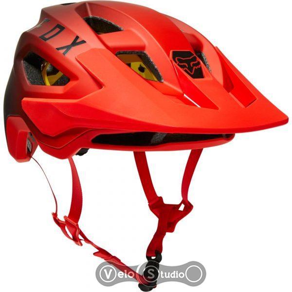 Велошлем FOX SpeedFrame Pro Mips Flo Red