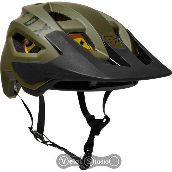 Велошлем FOX SpeedFrame Pro Mips Green Black