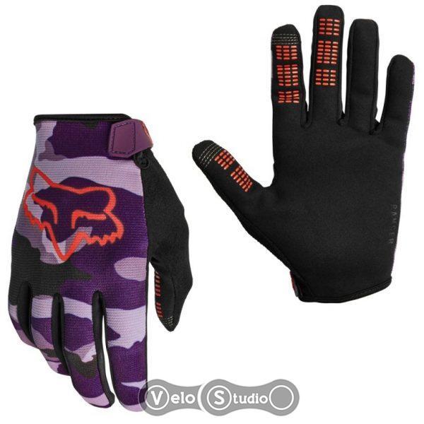 Женские велоперчатки FOX Ranger Dark Purple