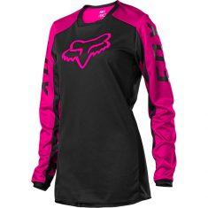 Женское джерси FOX 180 DJET Jersey Black Pink