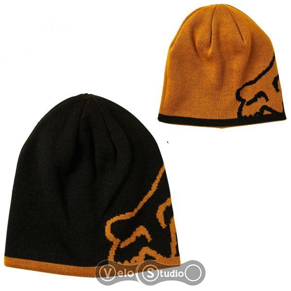 Зимняя шапка FOX Streamliner Beanie Gold (двухсторонняя)