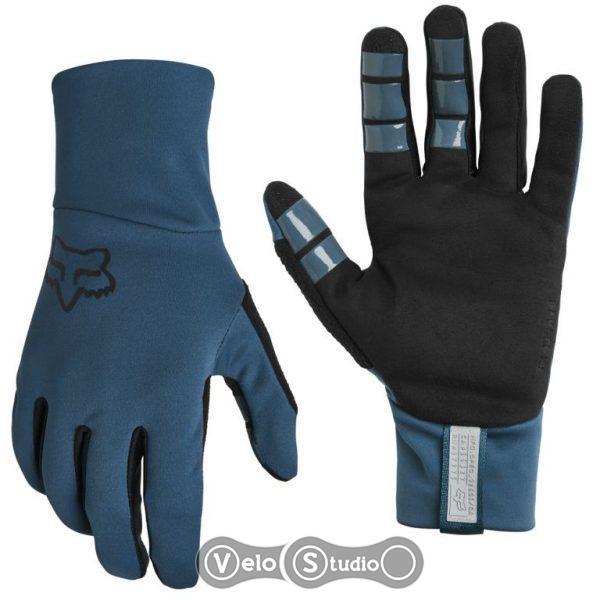 Зимние велоперчатки FOX Ranger Fire Slate Blue