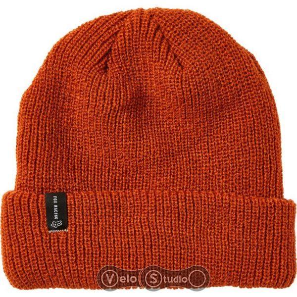 Зимняя шапка FOX Machinist Beanie Burnt Orange