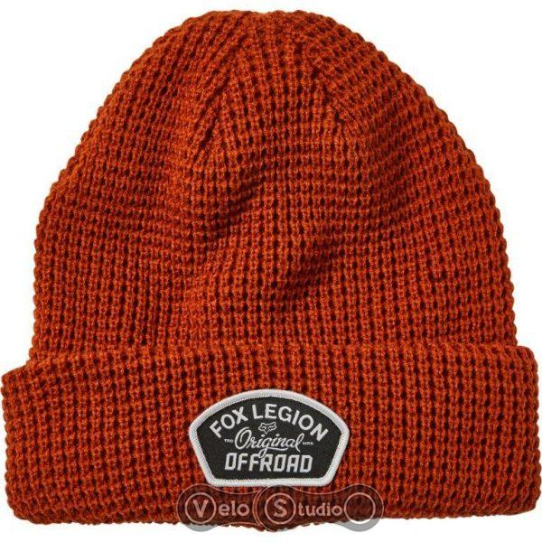 Зимняя шапка FOX Speed Division Beanie Burnt Orange