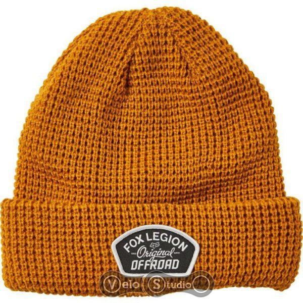 Зимняя шапка FOX Speed Division Beanie Gold